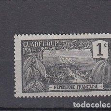 Sellos: GUADALUPE ( COLONIA FRANCESA ).1905-07. YVERT 55. NUEVO SIN GOMA.. Lote 175453418