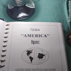 Selos: COLECCION COMPLETA EN 2 ALBUNES DE SELLOS TEMA AMERICA UPAEP.. Lote 178235392