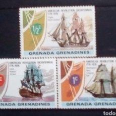 Sellos: GRENADINAS NAVIOS VELEROS SERIE DE SELLOS NUEVOS. Lote 179529513
