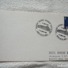 Sellos: SOBRE. EXPOSICION FILATELICA CENTENARIO PLAZA DE TOROS. 1980. PUERTO DE SANTA MARIA. VER SELLO. Lote 181151565