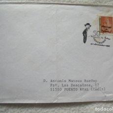 Sellos: SOBRE. 50 ANIVERSARIO DE MANUEL DE FALLA. 1996. VER SELLO. Lote 181151613