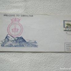 Sellos: SOBRE. WELCOME TO GIBRALTAR. INVENCIBLE. VER SELLO. Lote 181187692