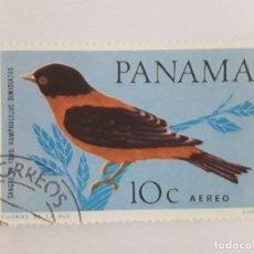 Sellos: PANAMÁ SELLO USADO FAUNA. Lote 182061987