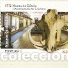 Sellos: PORTUGAL ** & MUSEOS CENTENARIOS, MUSEO DE CIENCIAS DE LA UNIVERSIDAD DE COIMBRA 1772-2019 (6834). Lote 182598710