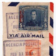 Sellos: SELLOS REPUBLICA DE PANAMA 1938. Lote 183546333