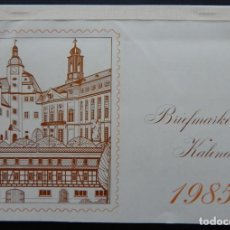 Sellos: CALENDARIO FILATÉLICO 1985 / BRIEFMARKEN KALENDER 1985 - PANAMA, DDR, SHQIPERIA, REPUBLIQUE TOGOL.... Lote 183811915