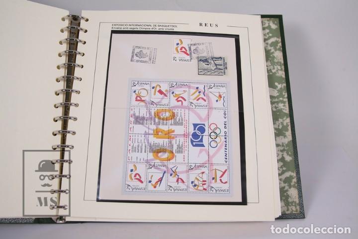 Sellos: Lote de Sellos- Matasellos Especiales de Reus -Tematica de Basquetbol, Año Miró, Año Universal Gaudí - Foto 2 - 184108990