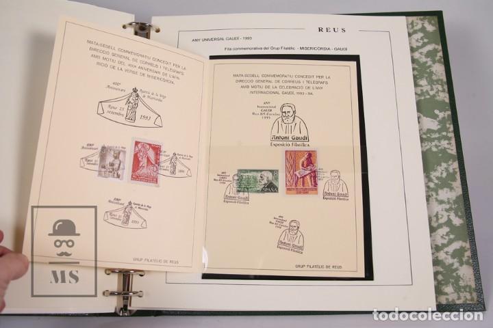 Sellos: Lote de Sellos- Matasellos Especiales de Reus -Tematica de Basquetbol, Año Miró, Año Universal Gaudí - Foto 5 - 184108990