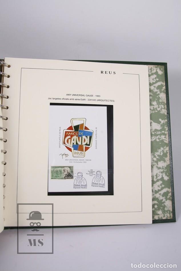 Sellos: Lote de Sellos- Matasellos Especiales de Reus -Tematica de Basquetbol, Año Miró, Año Universal Gaudí - Foto 6 - 184108990