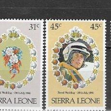 Francobolli: SIERRA LEONA Nº 472 AL 474 (**). Lote 184904438