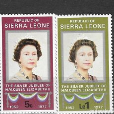 Timbres: SIERRA LEONA Nº 403 AL 404 (**). Lote 184904643