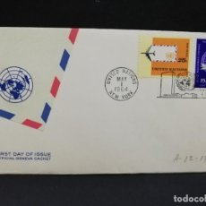 Sellos: SOBRE PRIMER DIA. AMERICA. NEW YORK. 1964.. Lote 185676756