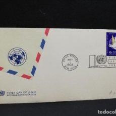 Sellos: SOBRE PRIMER DIA. AMERICA. NEW YORK. 1964.. Lote 185676820