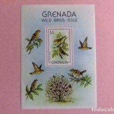 Sellos: GRENADA 1980 FAUNA BIRDS PAJAROS OISEAUX YVERT BLOCK 86 ** MNH. Lote 186406162