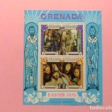 Sellos: GRENADA 1970 PAQUES PASION DE CRISTO YVERT BLOC 3 ** MNH . Lote 186448175