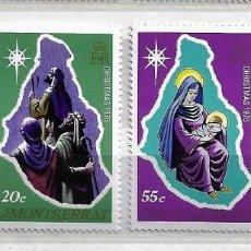 Sellos: MONSERRAT,1976,NAVIDAD,NUEVOS,MNH**,YVERT 356-359. Lote 186451975