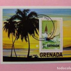 Sellos: GRENADA 1975 JEUX SPORTIFS PANAMERICAINS MEXICO CITY YVERT BLOC 44 FU. Lote 186458277