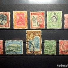 Sellos: JAMAICA, LOTE DE SELLOS ANTIGUOS. Lote 190372277