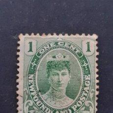 Selos: NEW FOUNDLAND, TERRANOVA, 1911 YVERT 89. Lote 191439076