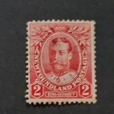 Selos: NEW FOUNDLAND, TERRANOVA, 1911 YVERT 90. Lote 191439297