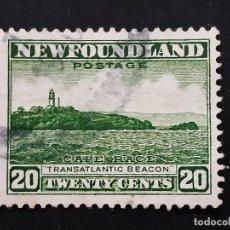 Selos: NEW FOUNDLAND, TERRANOVA, 1932 YVERT 182 (A). Lote 191440147