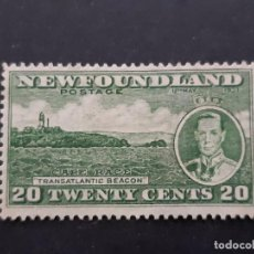 Selos: NEW FOUNDLAND, TERRANOVA, 1937 YVERT 215. Lote 191440581