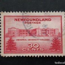 Selos: NEW FOUNDLAND, TERRANOVA, 1943 YVERT 228. Lote 191440953