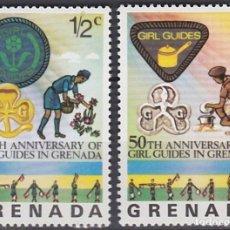 Sellos: LOTE SELLOS NUEVOS - ISLA DE GRENADA - AHORRA GASTOS COMPRA MAS SELLOS. Lote 191741697