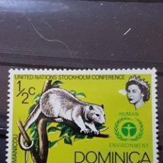 Sellos: DOMINICA_ SELLO NUEVO_ COMMON OPOSSUM_ YT-DM331 AÑO 1972. Lote 191781467