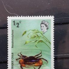 Sellos: DOMINICA_ SELLO NUEVO_ CANGREJO_ YT-DM362 AÑO 1972. Lote 191782615