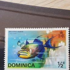 Sellos: DOMINICA_ SELLO USADO_PEZ TIGRE_ YT-DM414 AÑO 1975. Lote 191783056