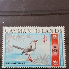 Sellos: ISLAS CAIMAN_ SELLO NUEVO_ GRAND CAYMAN THRUSH_ YT-KY214 AÑO 1969. Lote 191785082