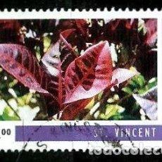 Sellos: SAN VICENTE Y LAS GRANADINAS SCOTT: 2240I-(1996) (CROTON - CARIBE) USADO. Lote 191996141