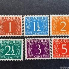 Selos: ANTILLAS HOLANDESAS 1950 YVERT 216-221**. Lote 194000796