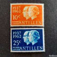 Sellos: ANTILLAS HOLANDESAS 1962 YVERT 309-10**. Lote 194008506