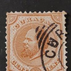 Selos: CURAÇAO, YVERT 7 DEFECTO. Lote 194230155