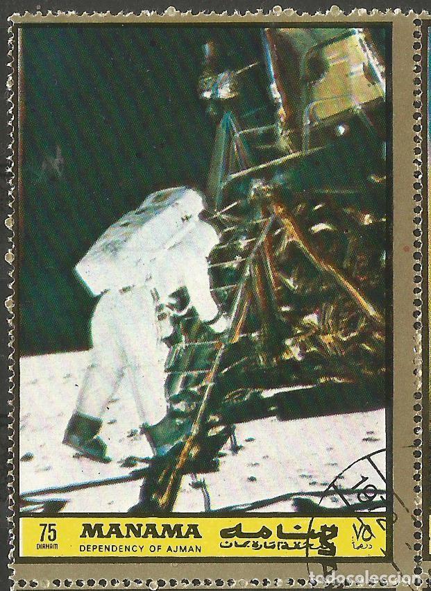 Sellos: MANAMA - HOJA CON SELLOS SOBRE LA TEMA ESPACIO EXTERIOR - USADOS - Foto 2 - 194296737