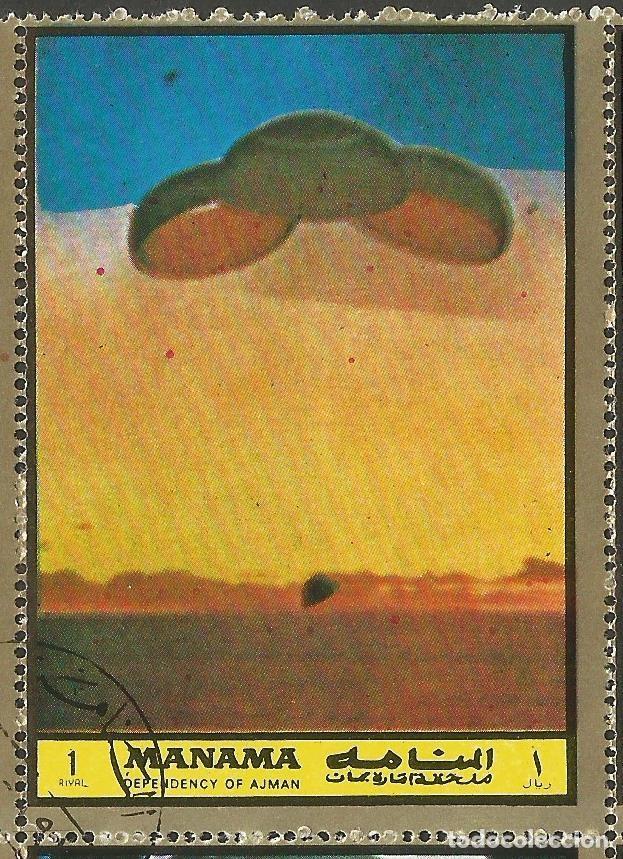 Sellos: MANAMA - HOJA CON SELLOS SOBRE LA TEMA ESPACIO EXTERIOR - USADOS - Foto 4 - 194296737
