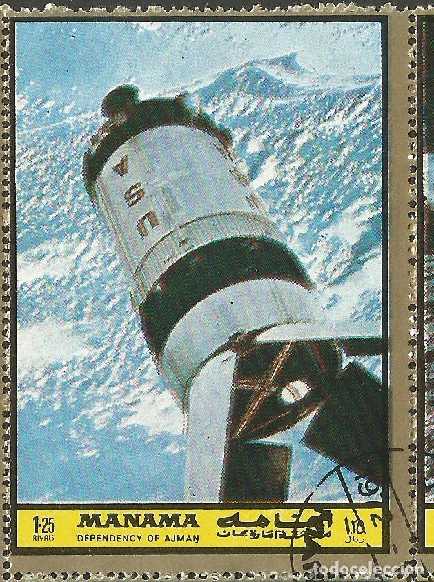 Sellos: MANAMA - HOJA CON SELLOS SOBRE LA TEMA ESPACIO EXTERIOR - USADOS - Foto 6 - 194296737