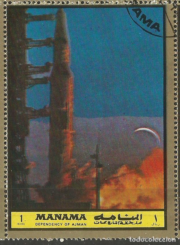Sellos: MANAMA - HOJA CON SELLOS SOBRE LA TEMA ESPACIO EXTERIOR - USADOS - Foto 7 - 194296737