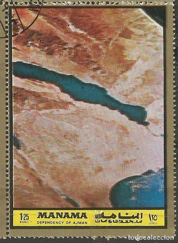 Sellos: MANAMA - HOJA CON SELLOS SOBRE LA TEMA ESPACIO EXTERIOR - USADOS - Foto 9 - 194296737