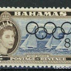 Sellos: BAHAMAS 1964 IVERT 191 * JUEGOS OLIMPICOS DE TOKYO - DEPORTES. Lote 194507902