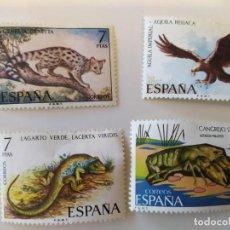 Sellos: PACK DE SELLOS DE DIFERENTES ANIMALES. Lote 194670693