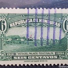 Sellos: HONDURAS_SELLO USADO_PALACIO TEGUCIGALPA_MI-HN 287 AÑO 1931 LOTE 8198. Lote 194778852