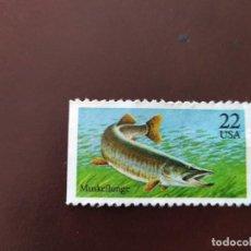 Sellos: PACK DE SELLOS DE PECES. Lote 194787961