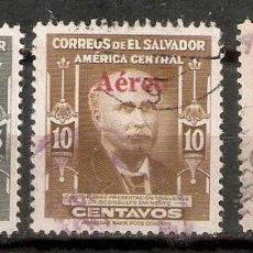 Sellos: EL SALVADOR.1948. CORREO AÉREO A 100/102. Lote 194965660