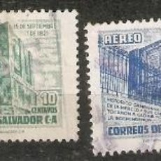 Sellos: EL SALVADOR.1953. CORREO AÉREO A 128/131. Lote 194967563
