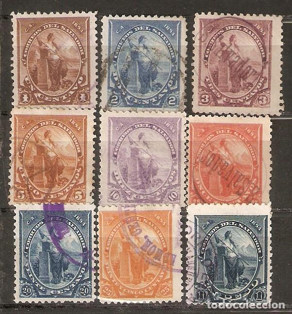EL SALVADOR.1894. YT 77/86.FALTA 85 (Sellos - Extranjero - América - Otros paises)