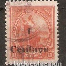 Sellos: EL SALVADOR.1894. YT 88. Lote 195026496