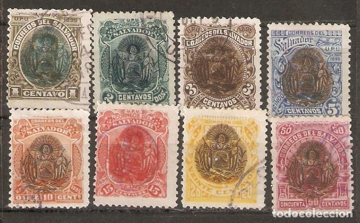 EL SALVADOR.1894. YT 91/96,98,101 (Sellos - Extranjero - América - Otros paises)